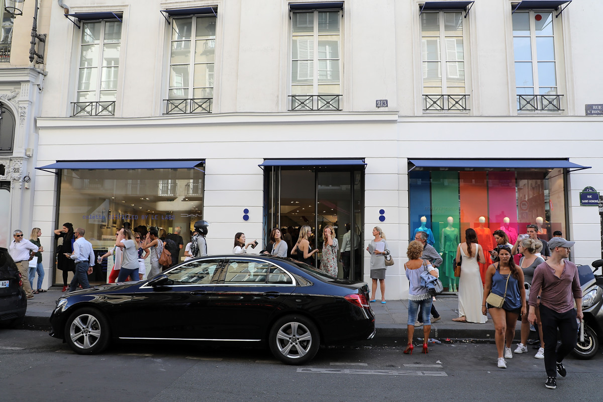 Colette storefront. Photo: Pierre Suu/Getty Images