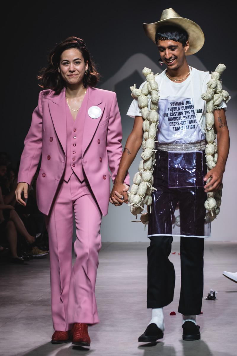 Barbara Sanchez-Kane at her Spring 2018 runway show during New York Fashion Week: Men's. Photo: Courtesy