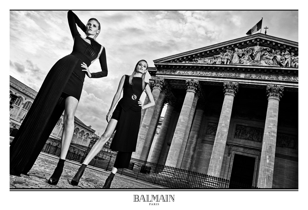 Image from Balmain's Fall/Winter 2017 campaign. Photo: Balmain