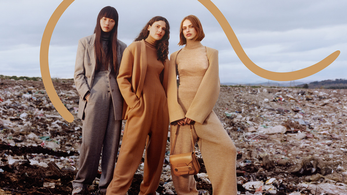 An image from Stella McCartney's Fall 2018 campaign, which was meant to highlight waste in the context of the fashion industry. Photo: Harley Weir for Stella McCartney
