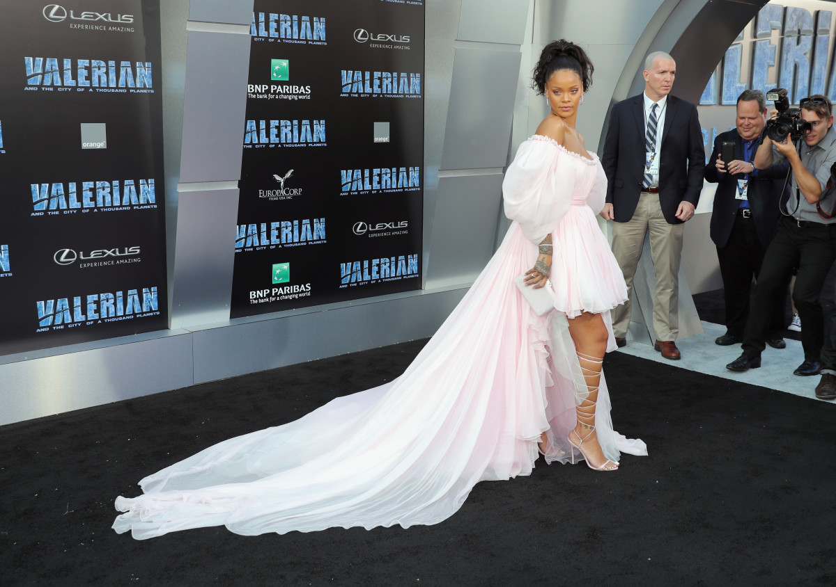 Rihanna in Giambattista Valli Couture. Photo: Neilson Barnard/Getty Images