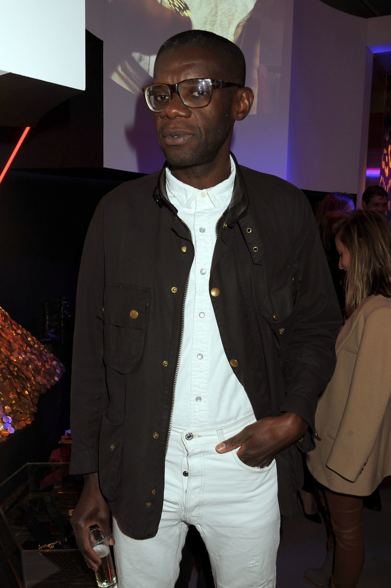Victor Glemaud at a 2013 Versace event. Photo: Jennifer Graylock/Getty Images