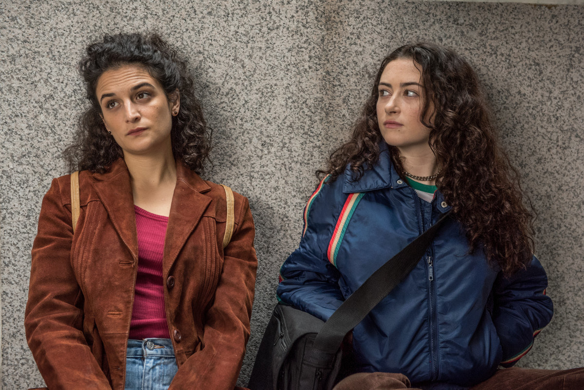 Dana (Jenny Slate) and Ali (Abby Quinn) in their full '90s glory. Photo: Amazon Studios