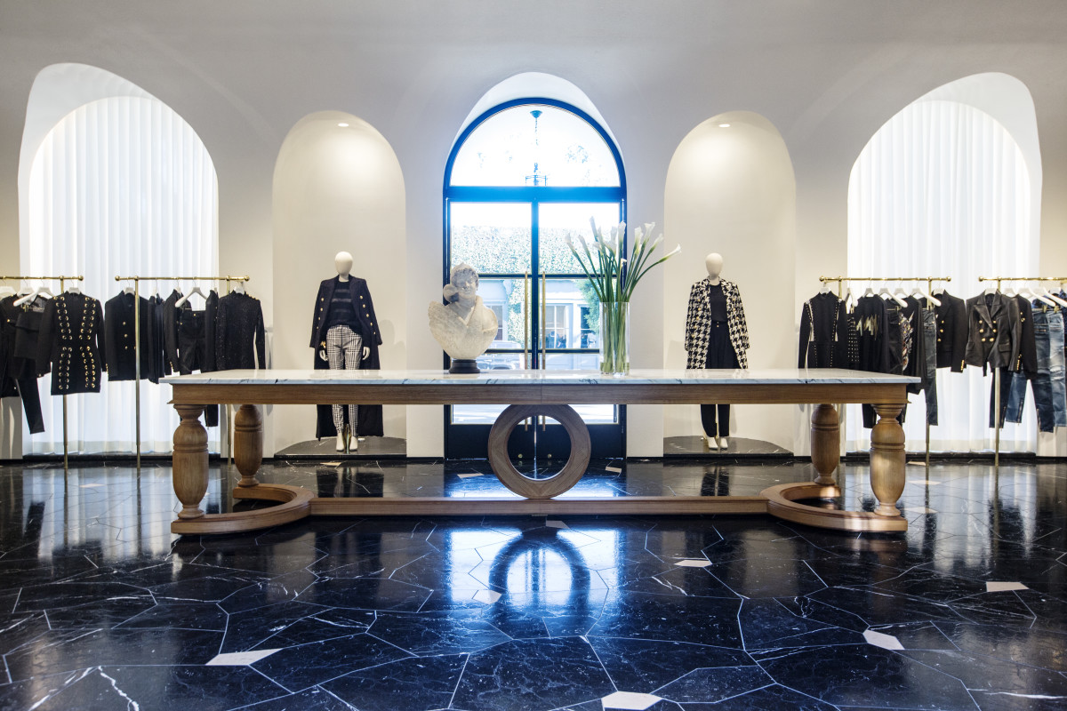 Balmain's West Coast flagship. Photo: Courtesy of Balmain