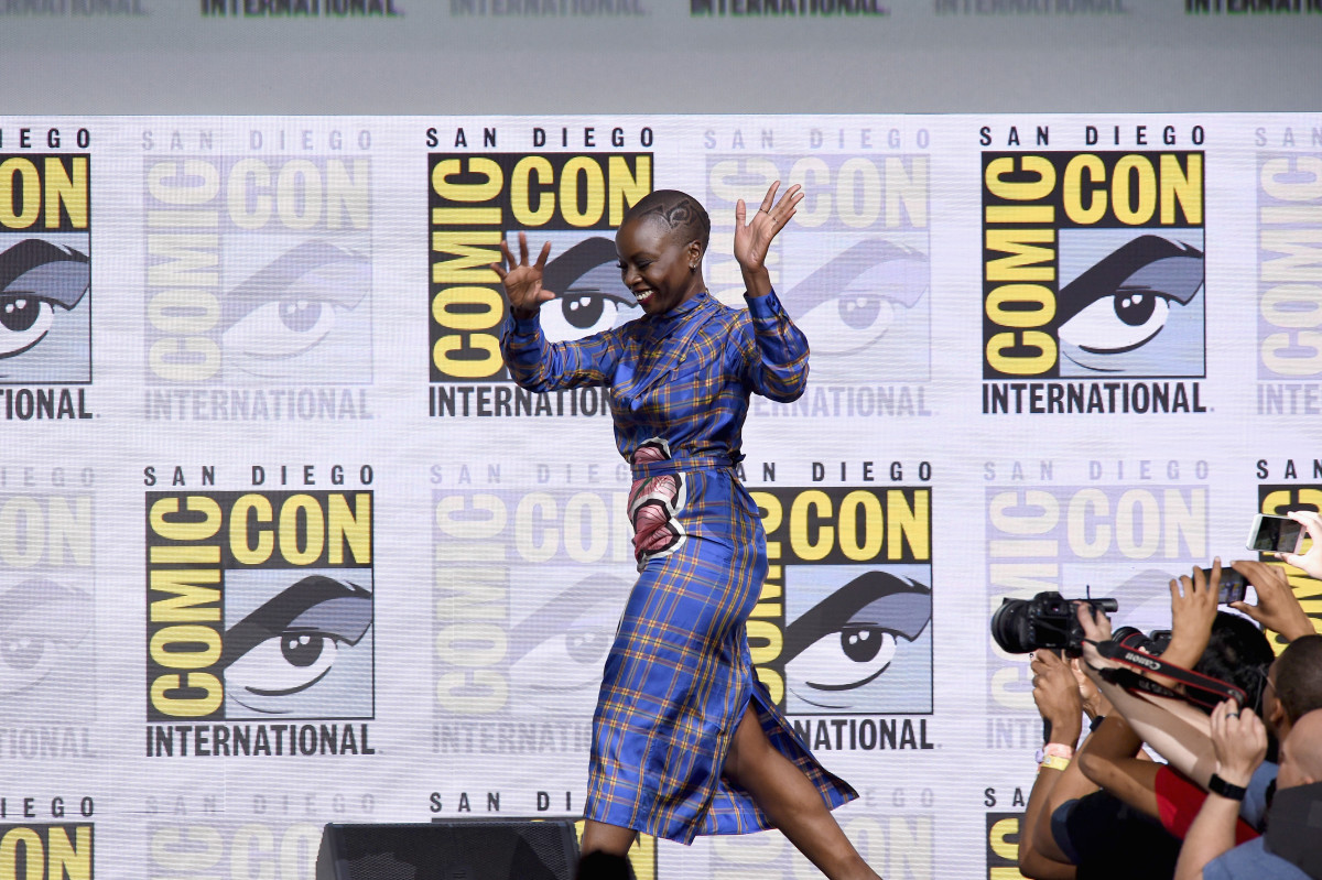 Actress Danai Gurira in Marco de Vincenzo at San Diego Comic-Con. Photo: Kevin Winter/Getty Images