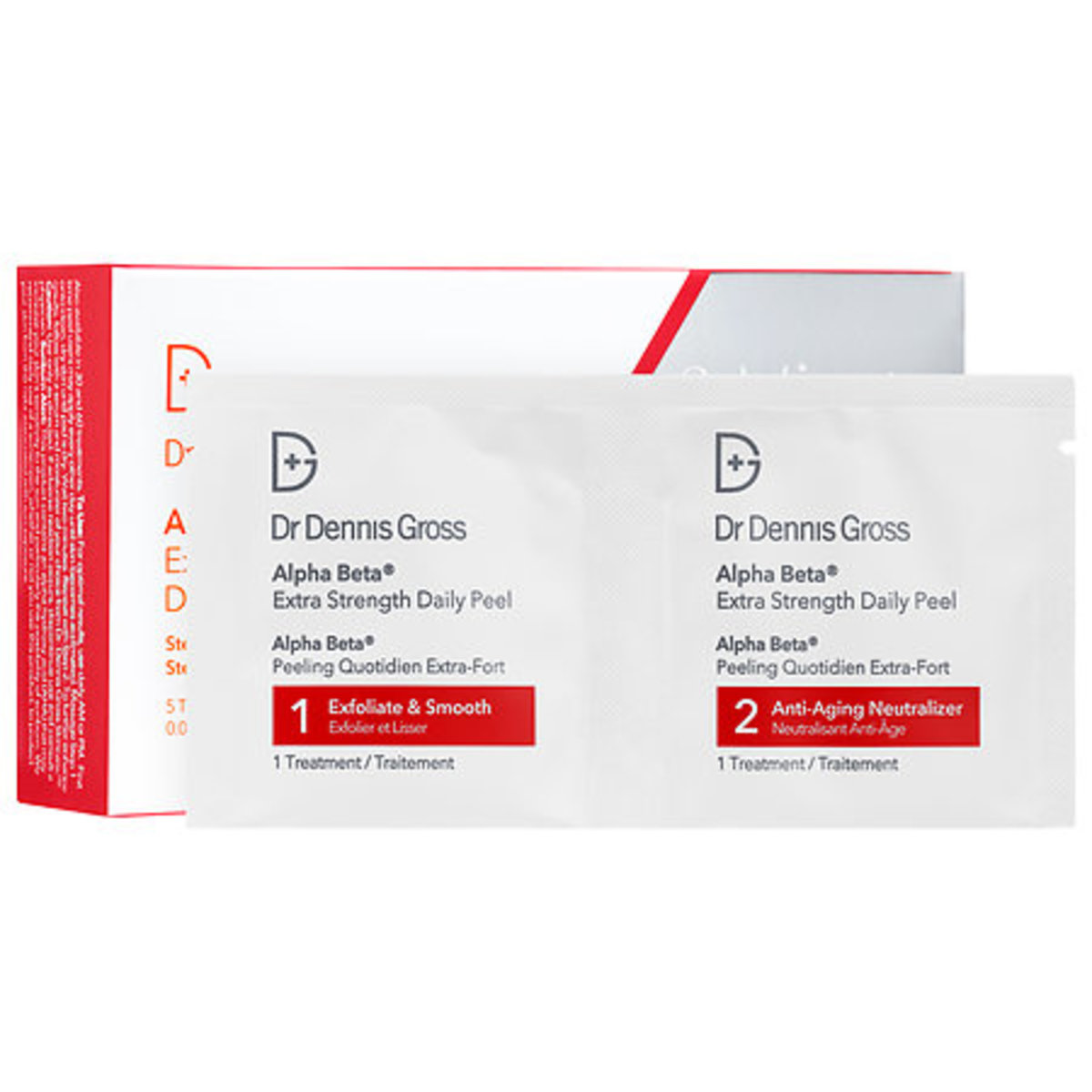 Dr. Dennis Gross Alpha Beta Extra Strength Daily Peel, $16 for five treatments, available at Sephora.