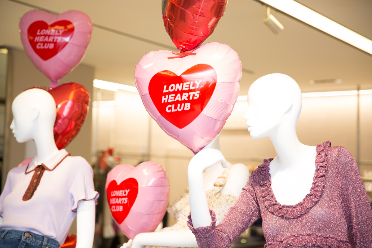 """The Lonely Hearts Club"" party at Bergdorf Goodman. Photo: BFA"