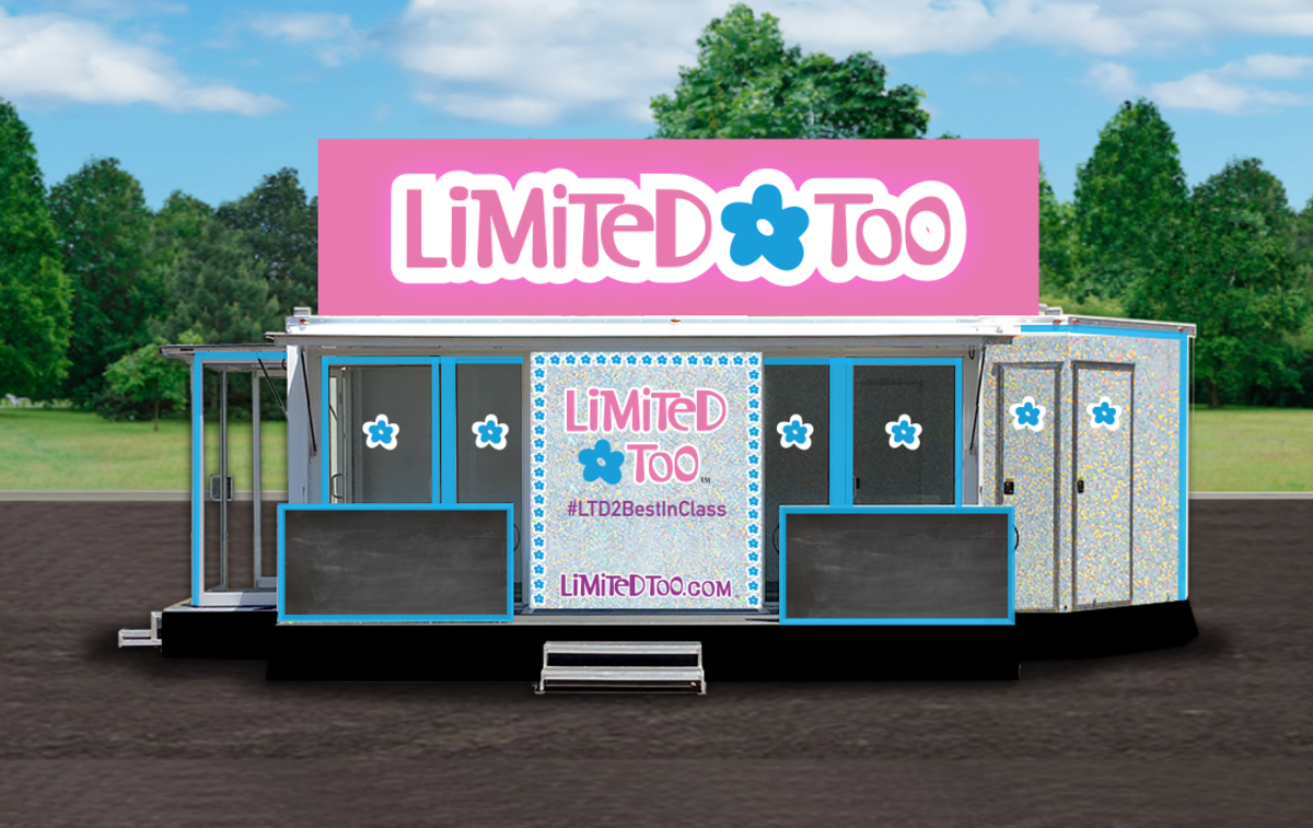 The Limited Too mobile pop-up. Photo: Courtesy of Limited Too