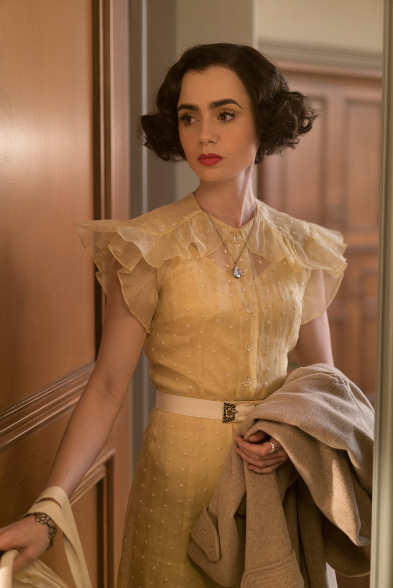 Celia (Lily Collins). Photo: Amazon Prime Video