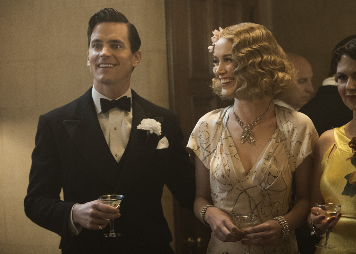 Monroe Stahr (Matt Bomer) and Kathleen (Dominique McElligott). Photo: Amazon Prime Video