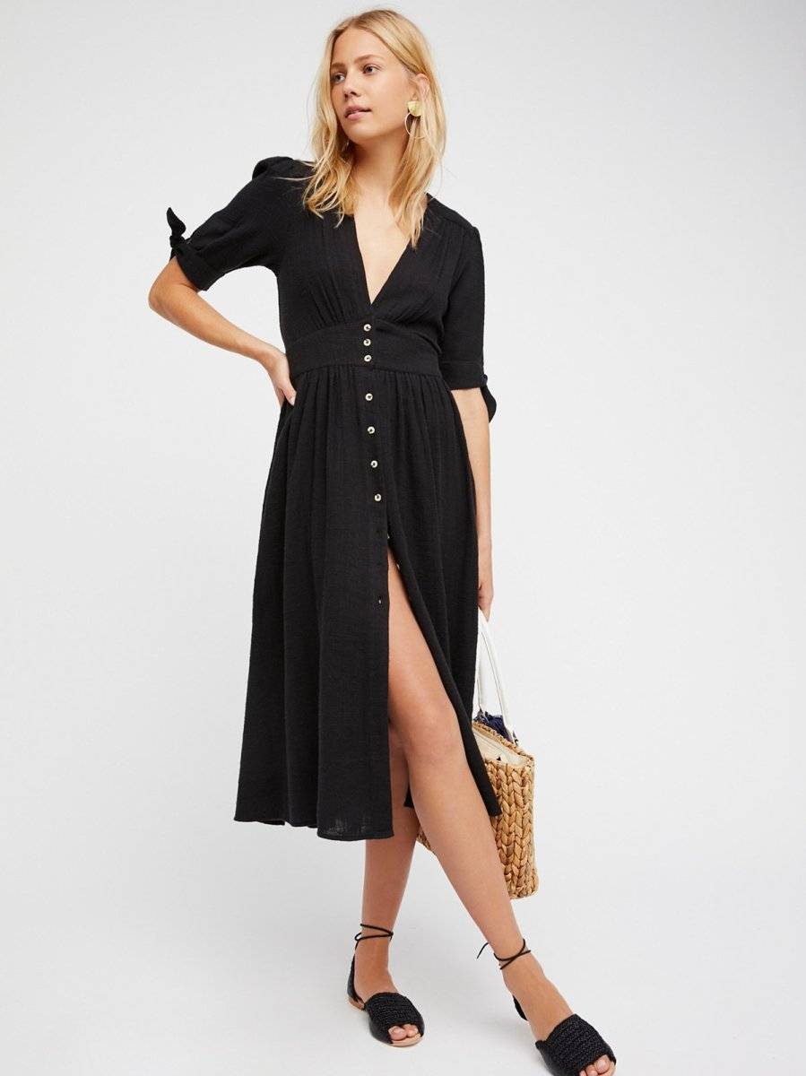 "Free People ""Love of My Life"" midi dress, $108, available at Free People."