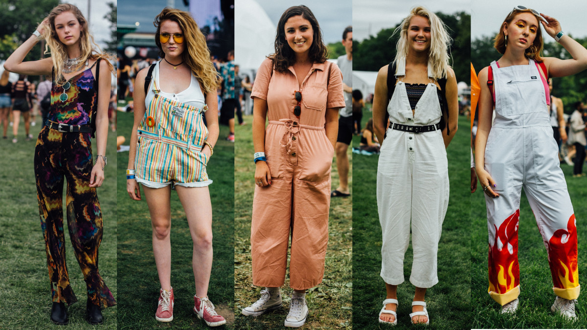 Looks from Panorama Festival. Photos: Emily Malan/Fashionista