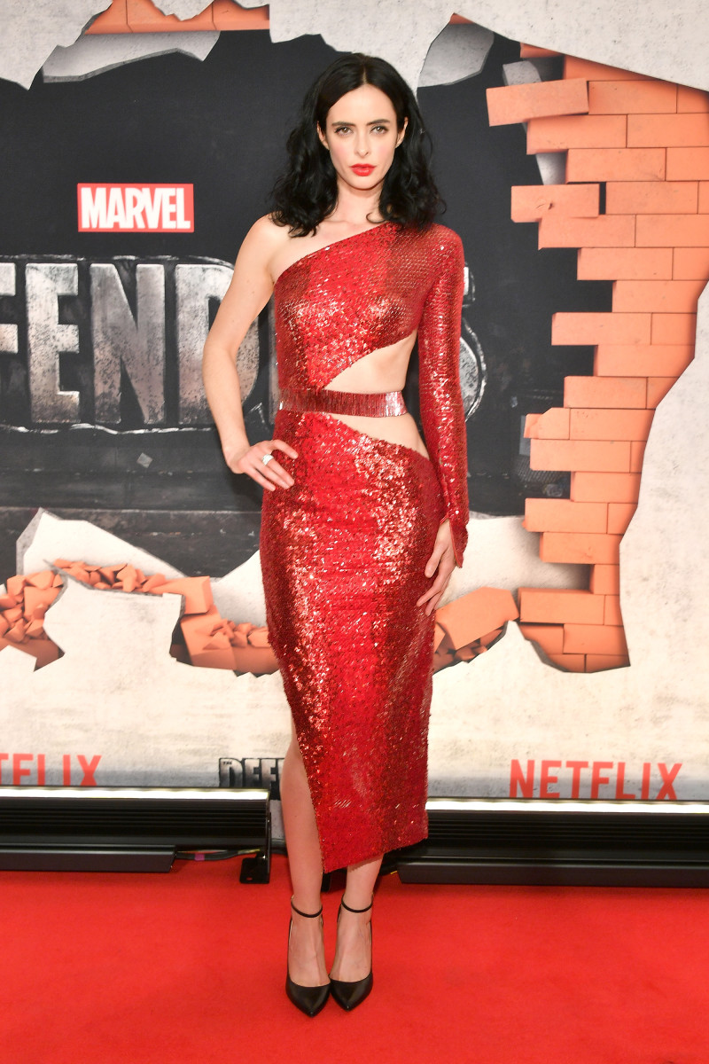 """Krysten Ritter at the New York City premiere of """"Marvel's The Defenders"""". Photo: Dia Dipasupil/Getty Images"""