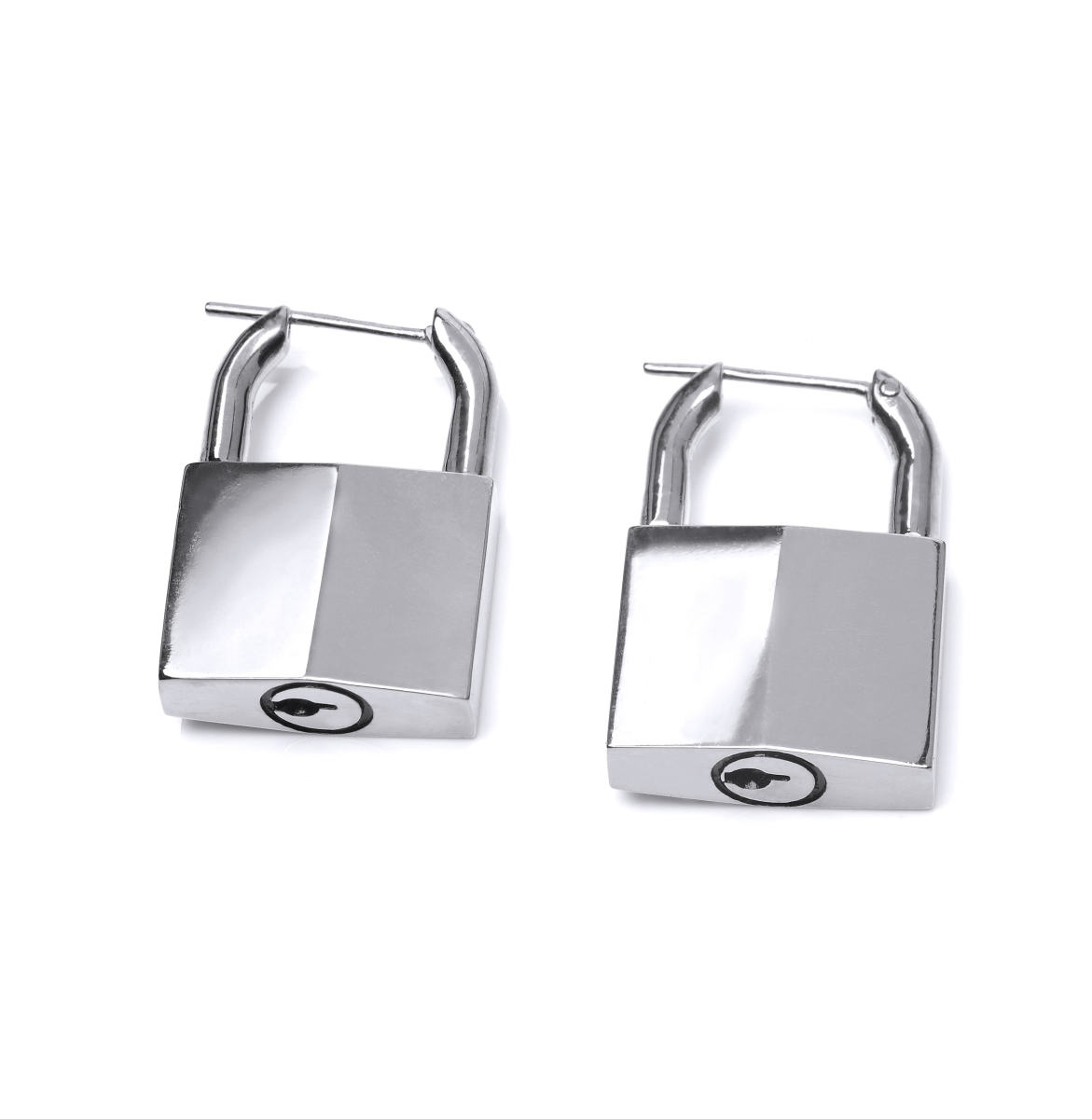 Lauren Klassen padlock earring, $300, available at Farfetch.