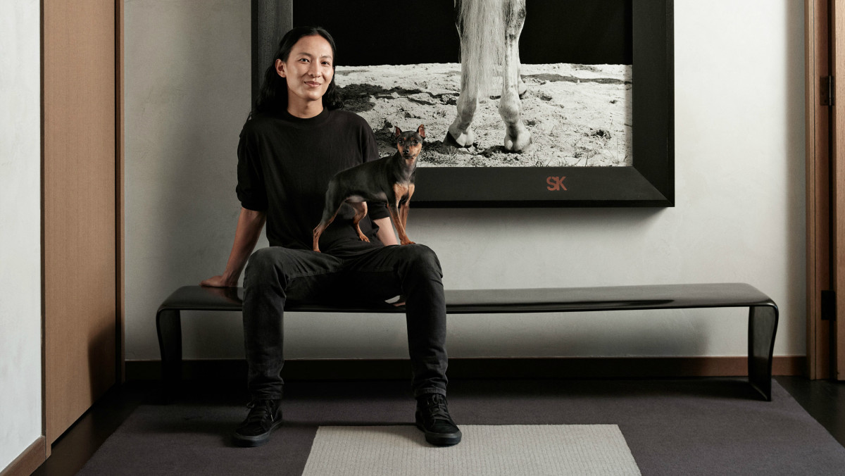 Alexander Wang's Sleek, Sparse New York City Home Is, Of Course, Ideal for Parties