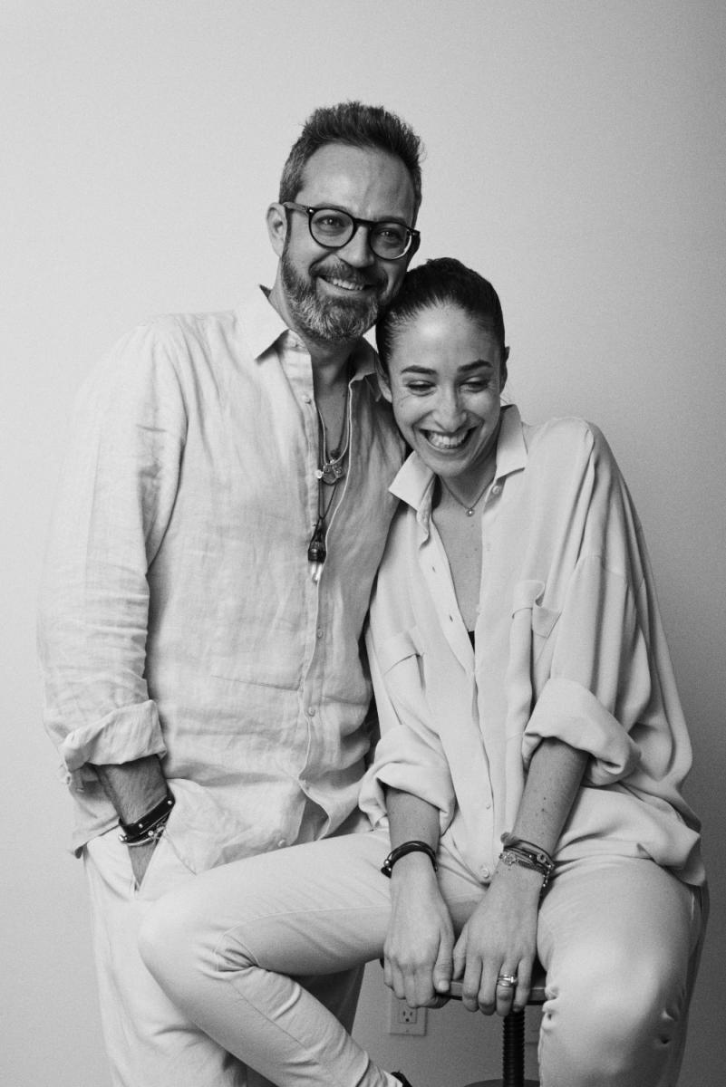 Oliver Corral and Bessie Afnaim Corral. Photo: Courtesy ofArjé