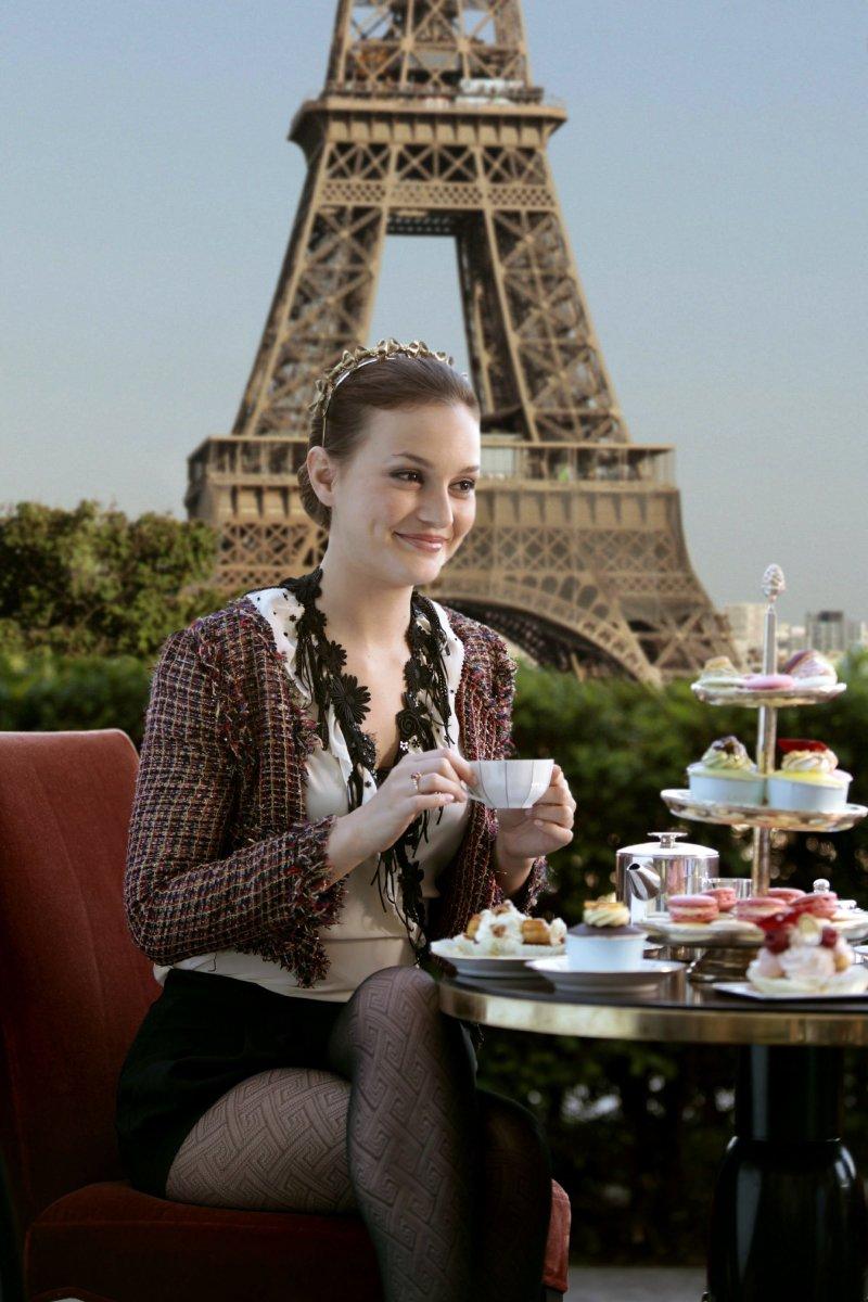 Blair Waldorf in Paris. Photo: Courtesy Warner Brothers