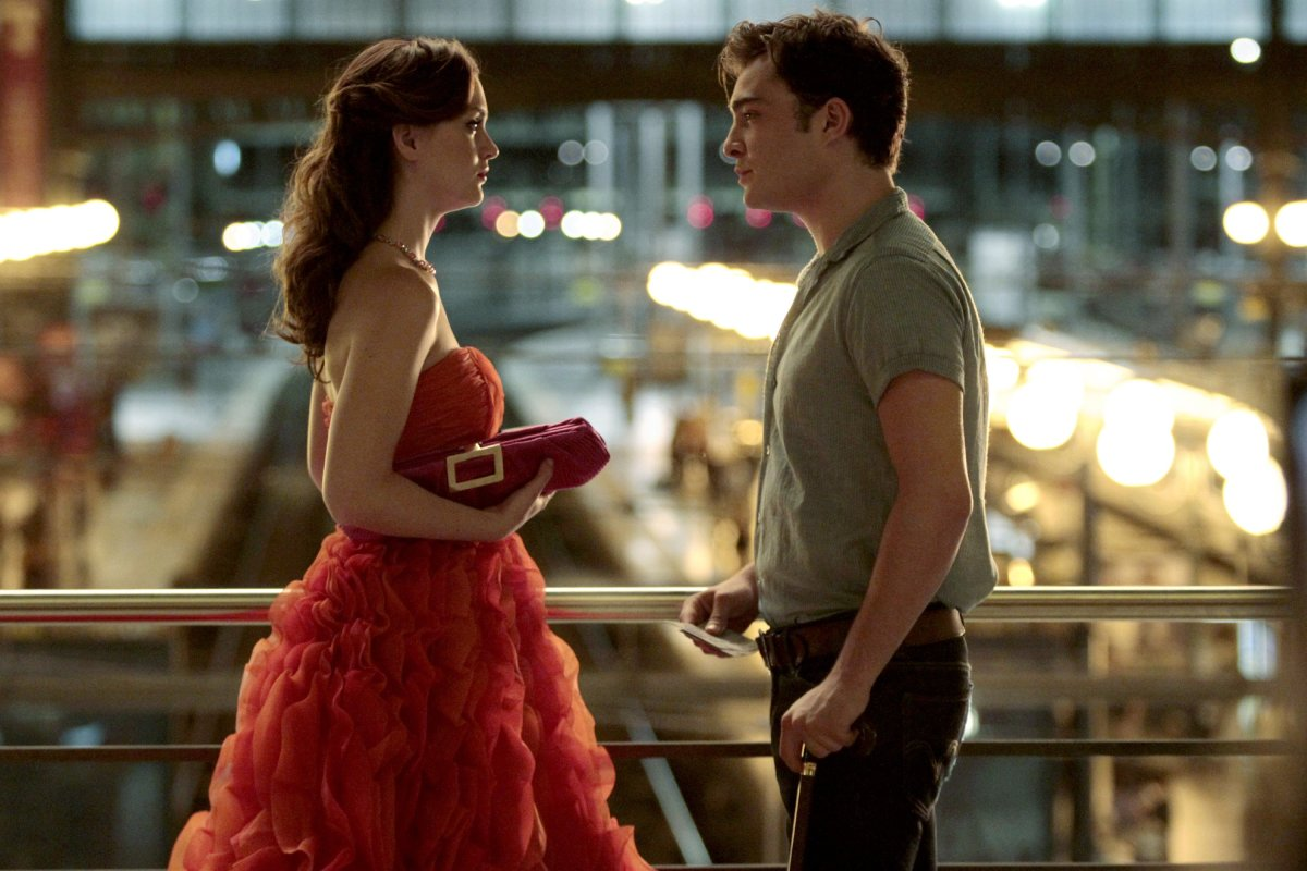 Blair Waldorf and Chuck Bass in Paris. Photo: Courtesy Warner Brothers