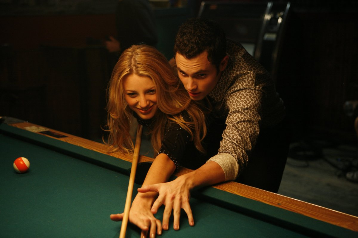 Serena van der Woodsen and Dan Humphrey on a date. Photo: Courtesy Warner Brothers