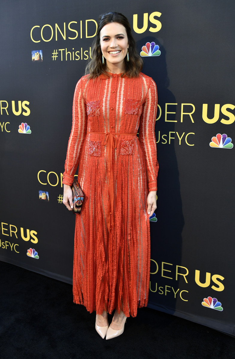 "Mandy Moore in Valentino at a ""This Is Us"" For Your Consideration event in Los Angeles. Photo: Frazer Harrison/Getty Images"