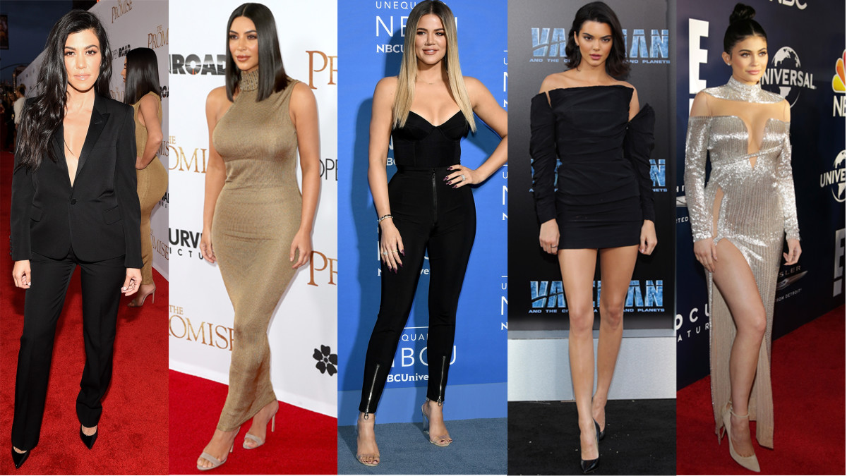 The Kardashian-Jenner sisters. Photos: Kevork Djansezian/Getty Images; Frederick M. Brown/Getty Images; Dia Dipasupil/Getty Images; Dia Dipasupil/Getty Images; Loreen Sarkis/Getty Images.