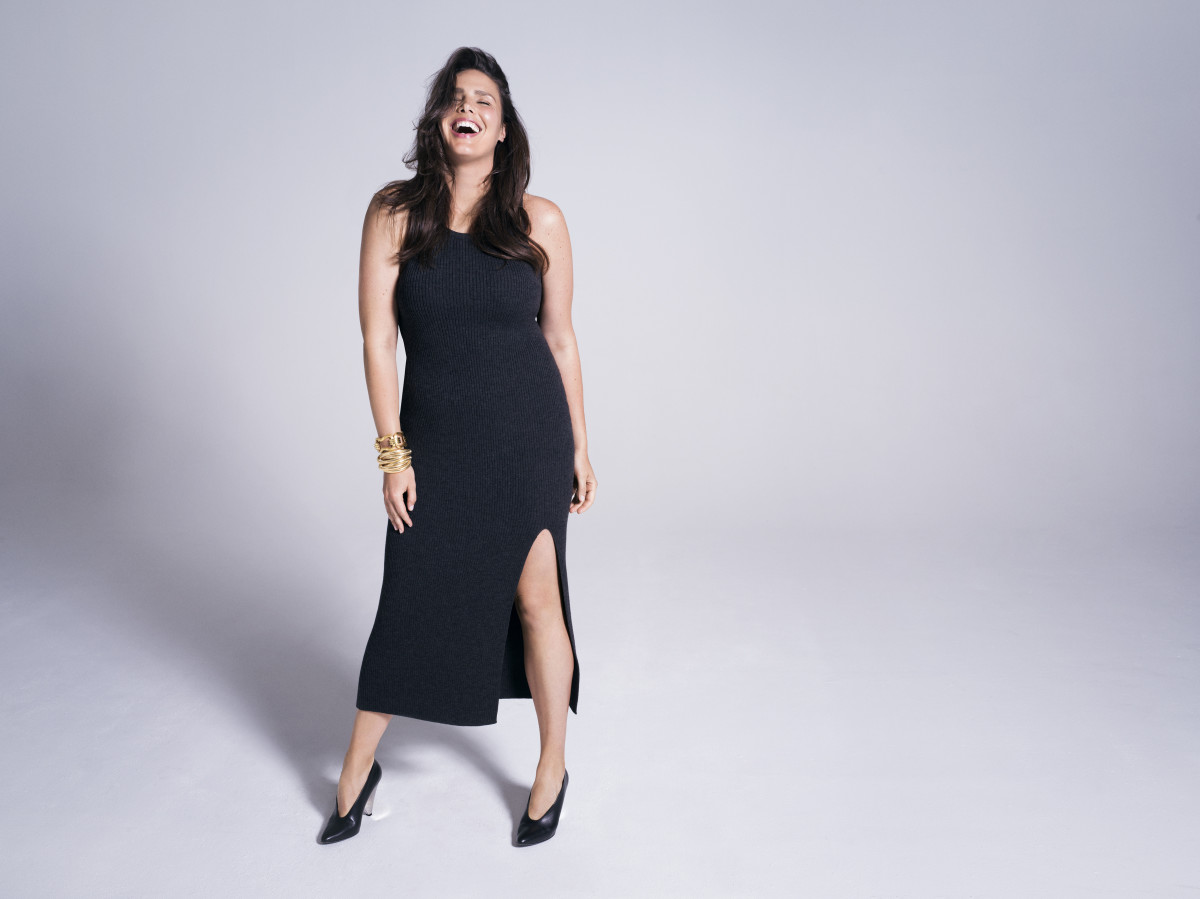 Candice Huffine in a Michael Kors dress. Photo: 11 Honoré