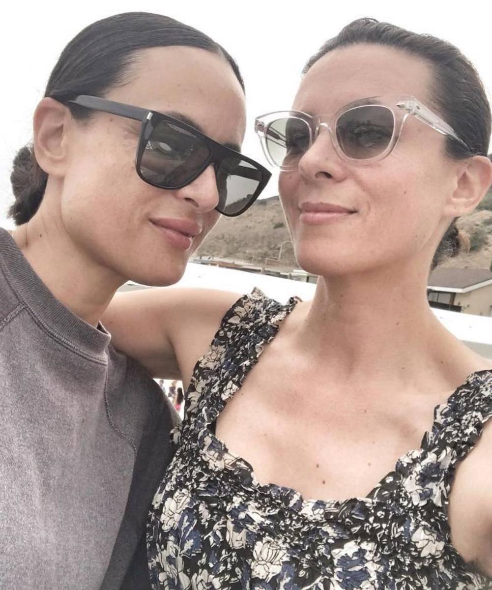 Garance Doré, right, with her sister. Photo: @garancedore/Instagram