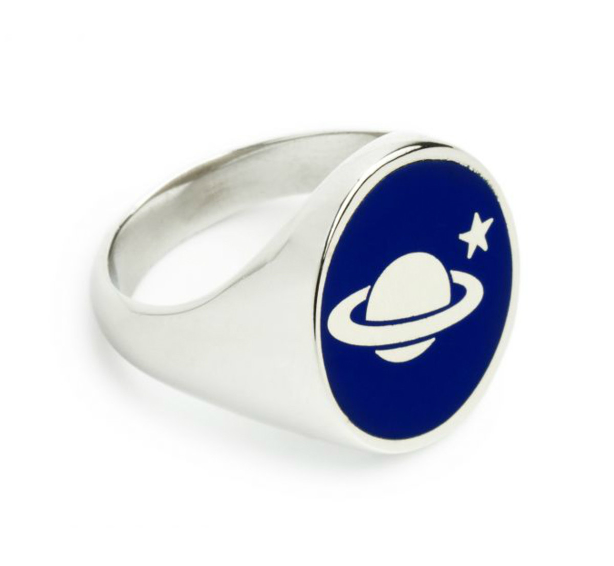 Saturn ring, $160, available at Alexachung.com.