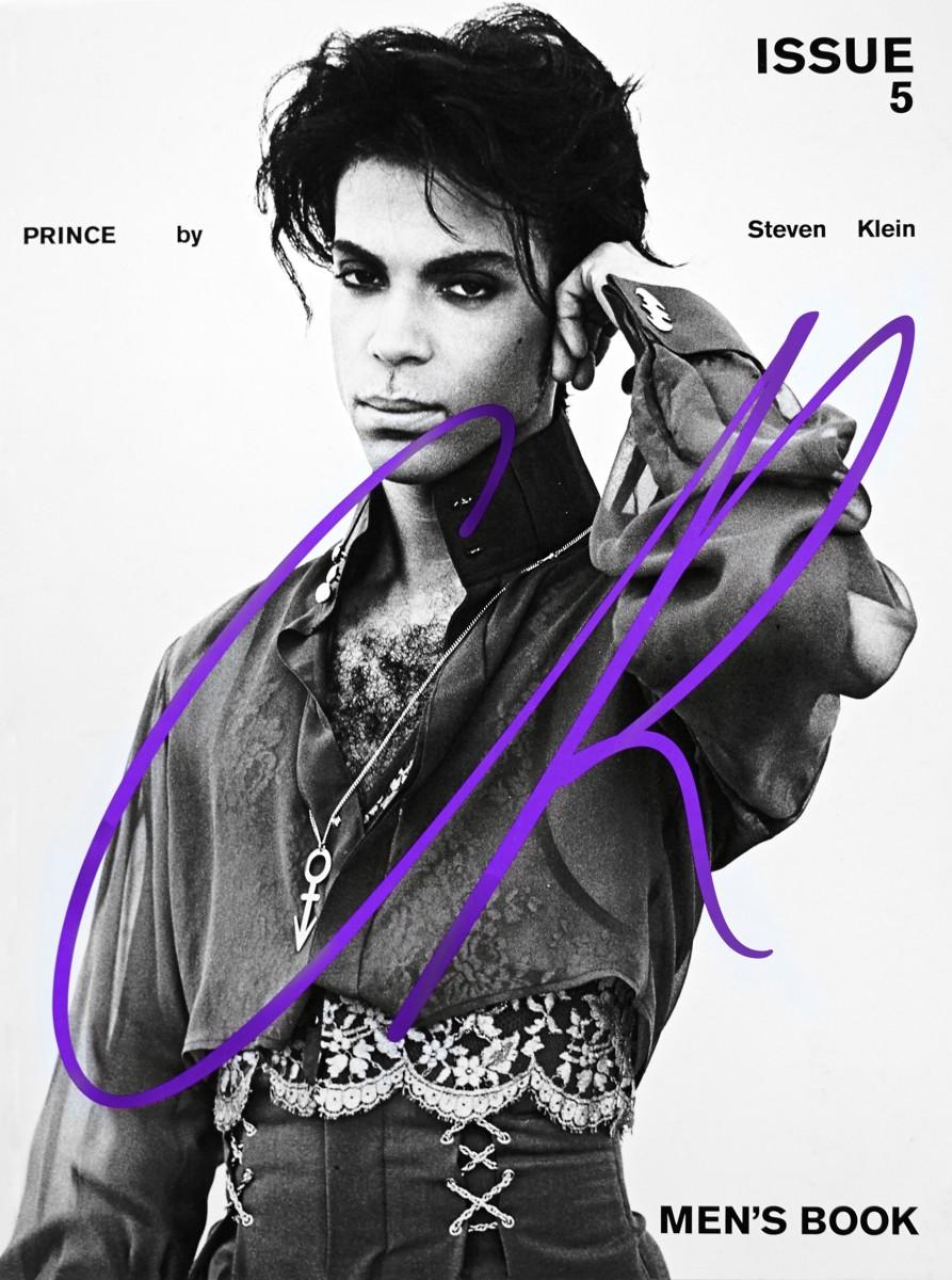 Prince for CR Men's Book. Photo: Steven Klein
