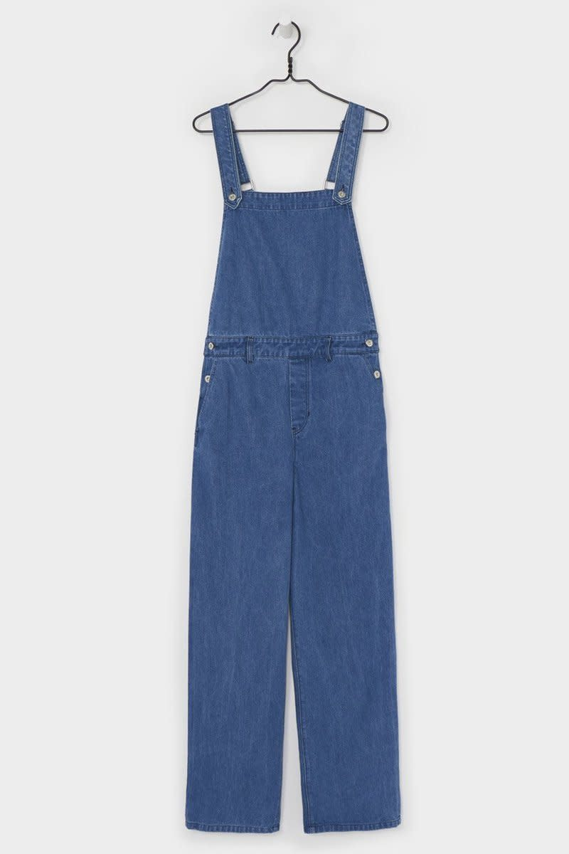 Runaway overalls, $290, available at Kowtow
