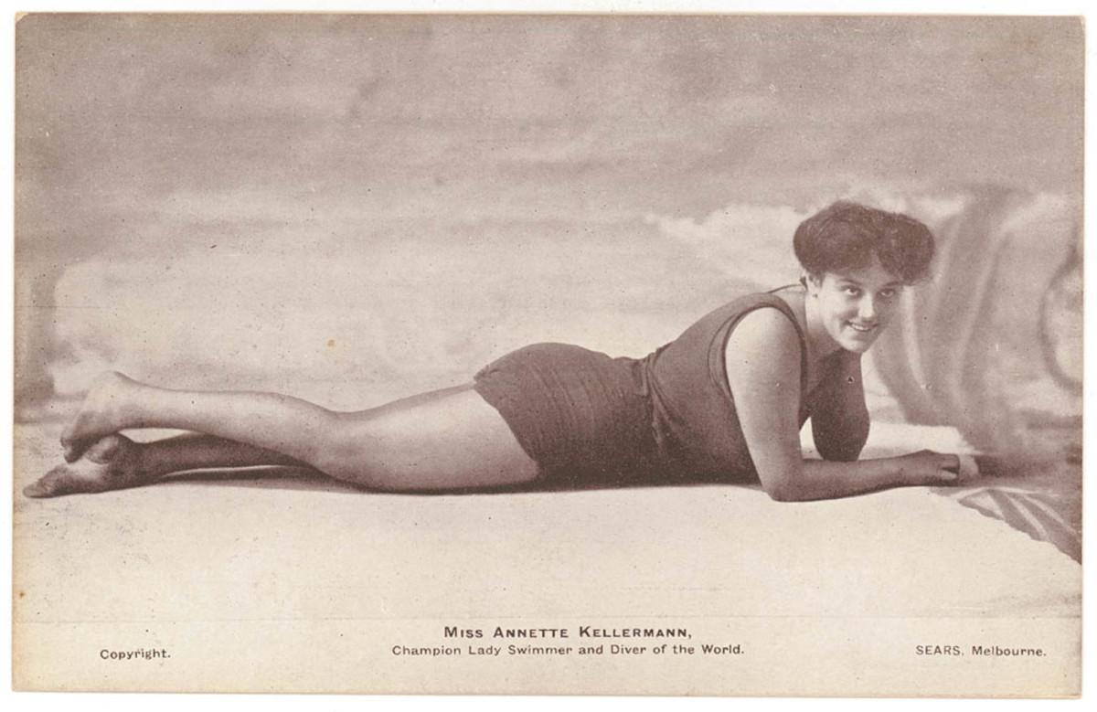 Swimmer Annette Kellerman, date unknown. Photo: Wikimedia Commons