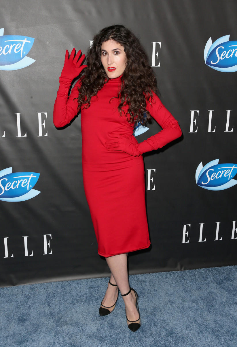Kate Berlant wearing LRS Studio. Photo: Frederick M. Brown/Getty Images