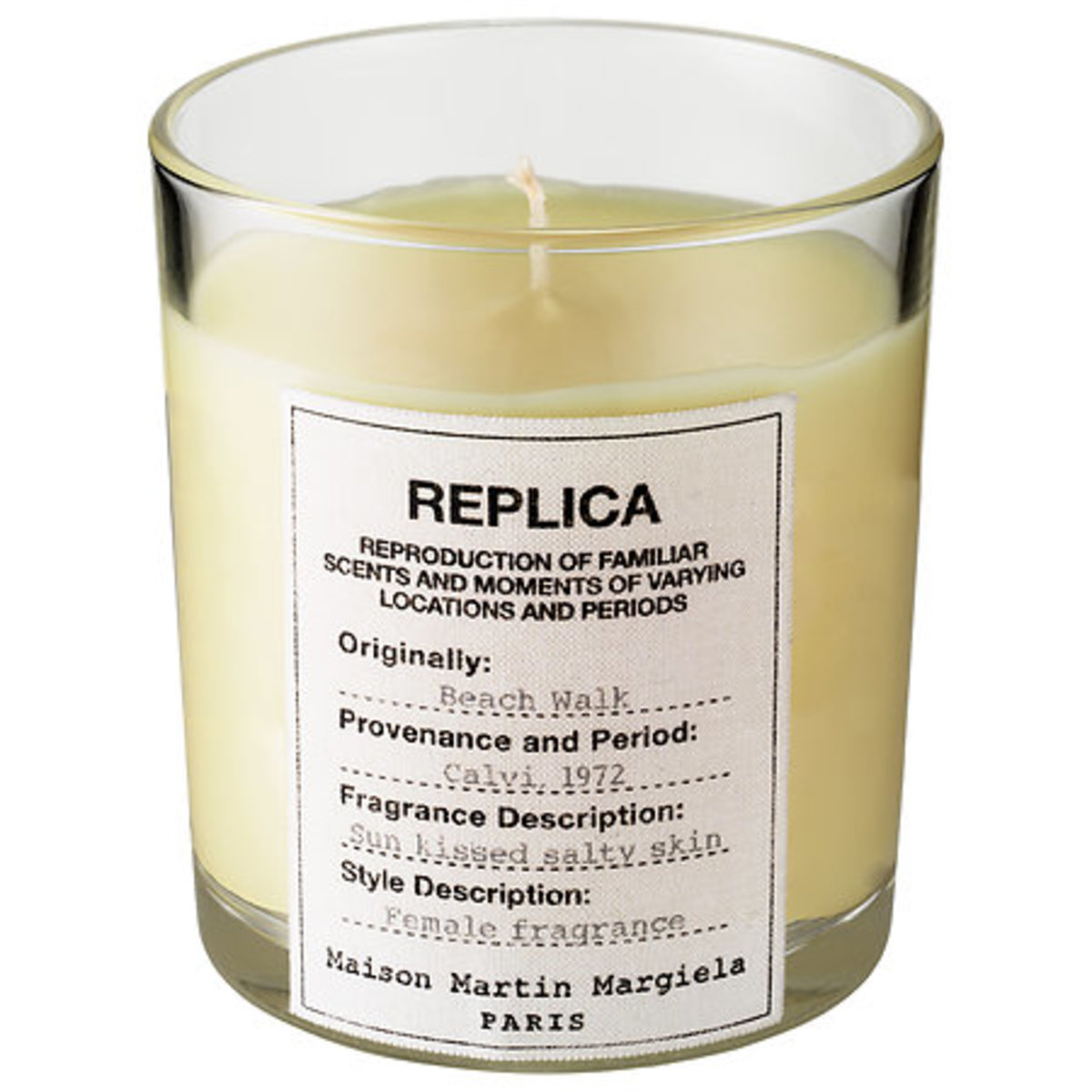 Maison Margiela Replica Beach Walk Scented Candle, $60, available at Sephora.