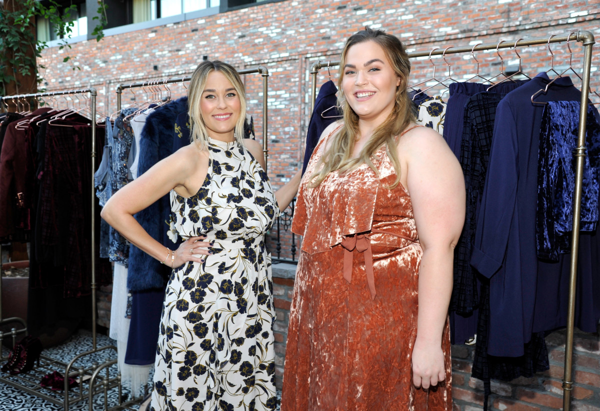 Lauren Conrad and plus-size fashion vlogger Loey Lane. Photo: Getty Images for Kohl's
