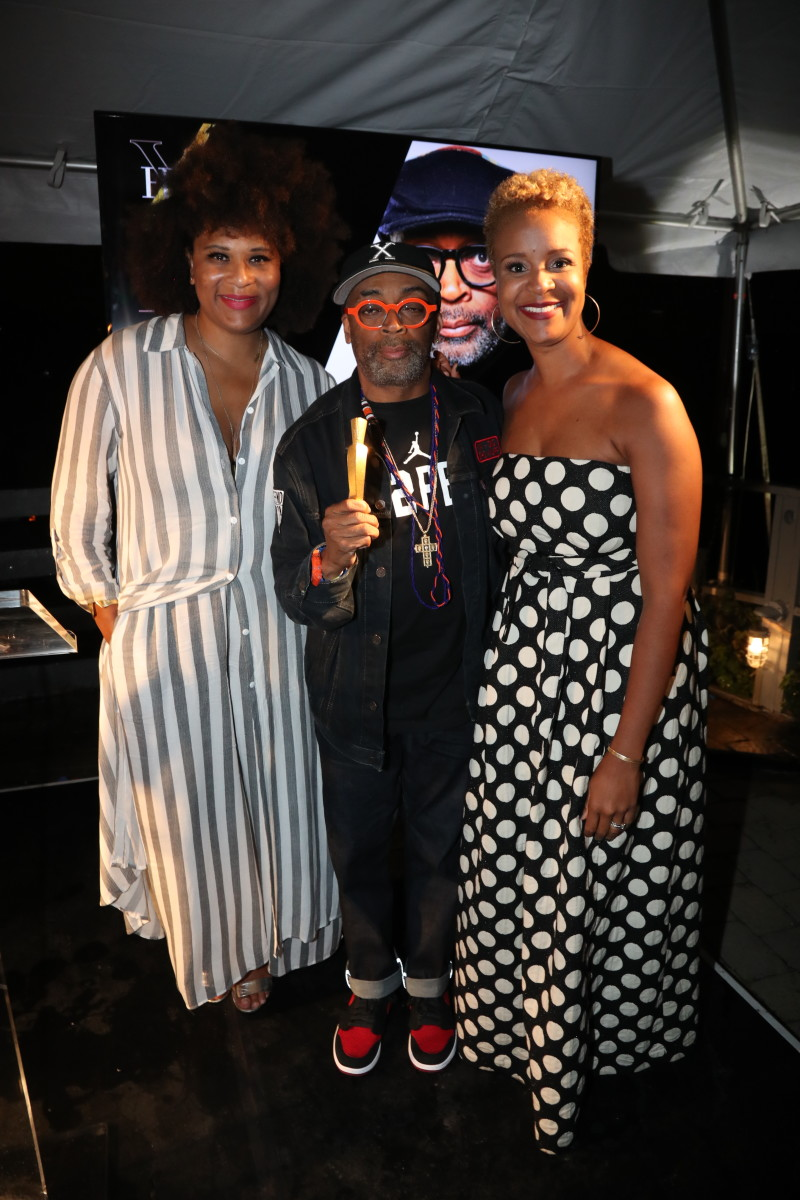 Essence's Julee Wilson, Spike Lee and Brandice Daniel. Photo: Courtesy