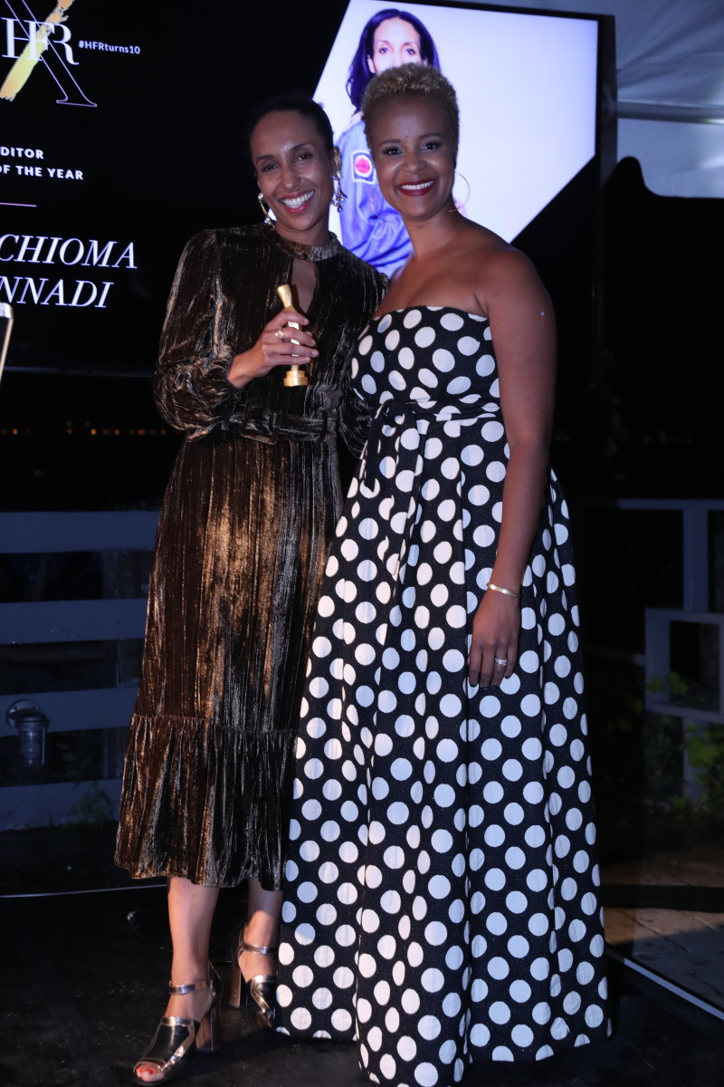 """Vogue""'s Chioma Nnadi and Brandice Daniel. Photo: Courtesy"