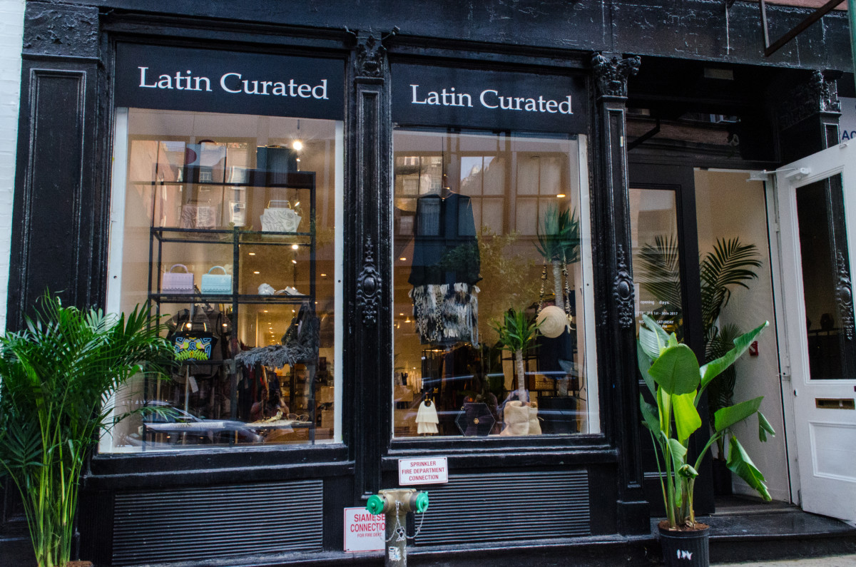 The Latin Curated space in Soho. Photo: Isabella Dorelli/Latin Curated