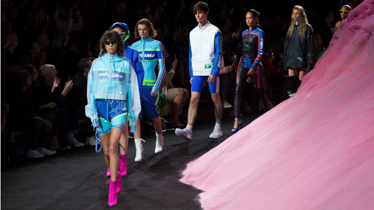 new photos best prices running shoes Every Look From Rihanna's Spring 2018 Fenty Puma Collection ...