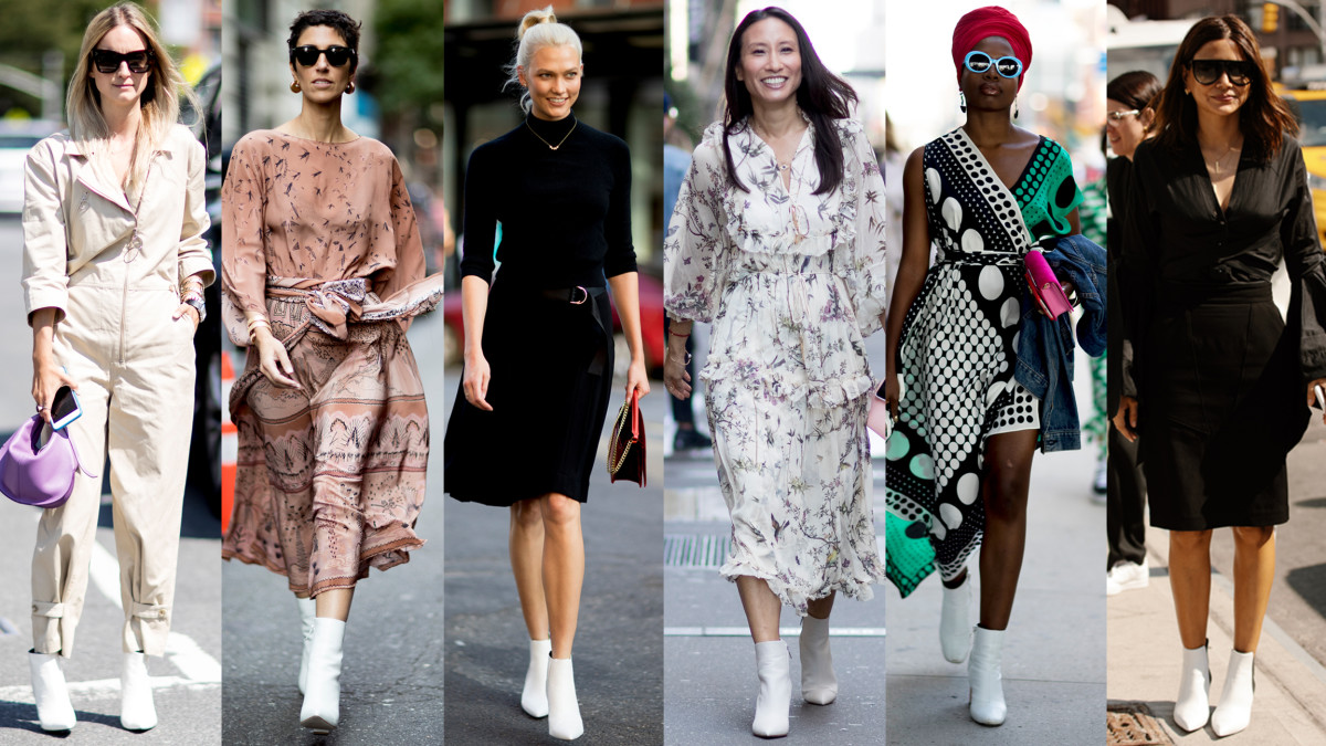 White Boots Were Everywhere On Day 4 Of New York Fashion -9635