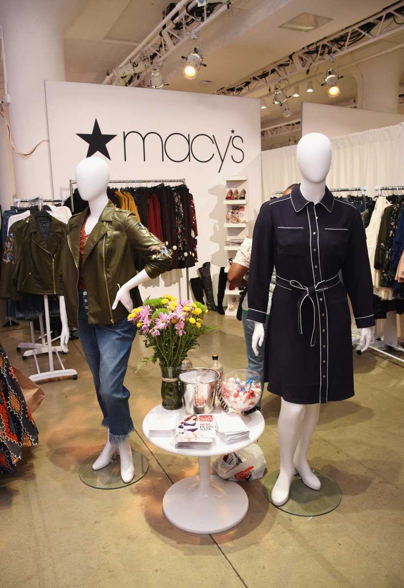 Macy's plus-size pop-up at the 3rd annual theCURVYcon presented by Dia&co. Photo: Bryan Bedder/Getty Images
