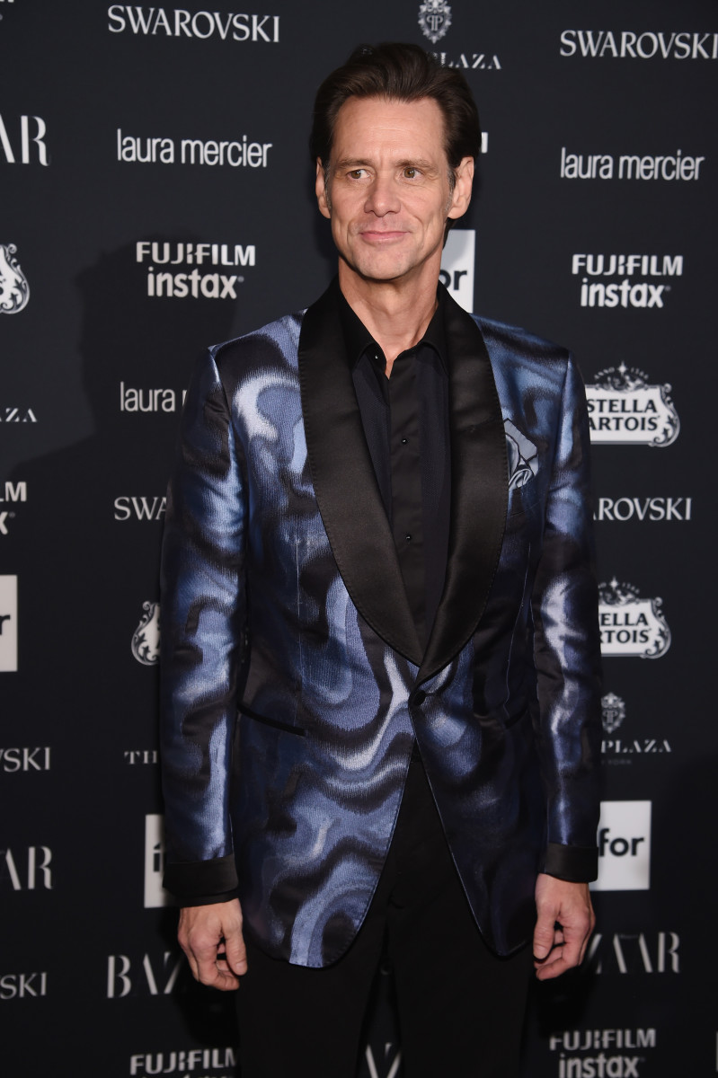 Jim Carrey at the 'Harper's Bazaar' Icons party on Sept. 8. Photo: Dimitrios Kambouris/Getty Images