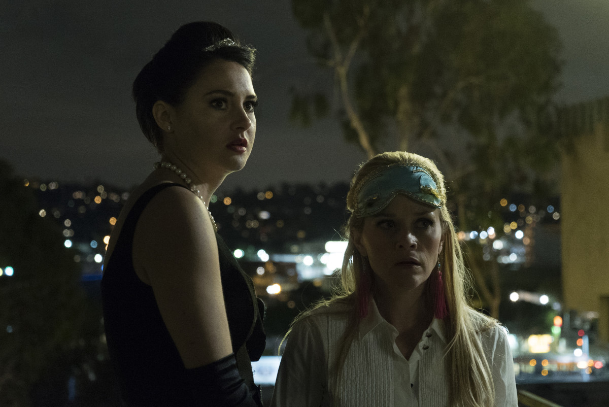 Jane (Shailene Woodley) and Madeline (Reese Witherspoon). Photo: Hilary Bronwyn Gayle/courtesy of HBO