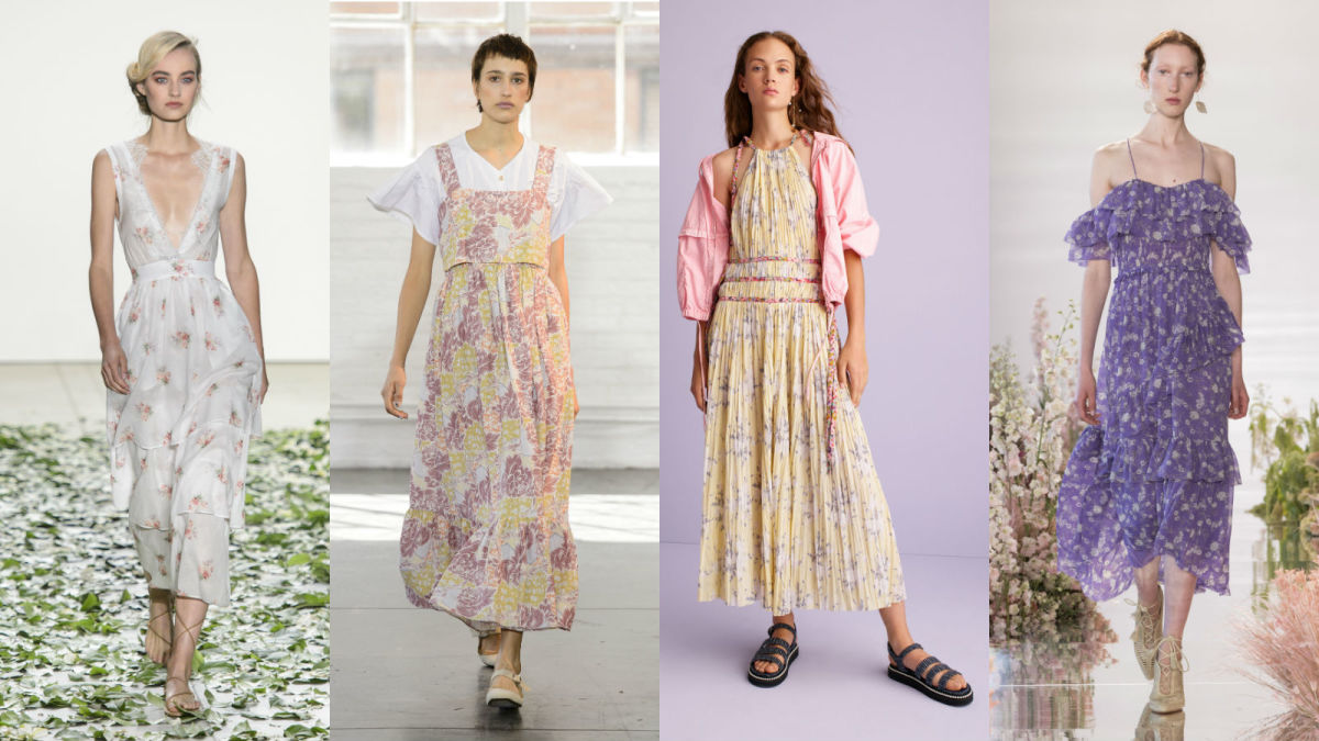 Brock Collection, Creatures of Comfort, Rebecca Taylor, Ulla Johnson. Photos: Imaxtree & Courtesy