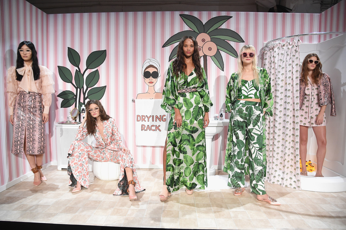 Alice + Olivia Collaborates With Female Artists For Spring