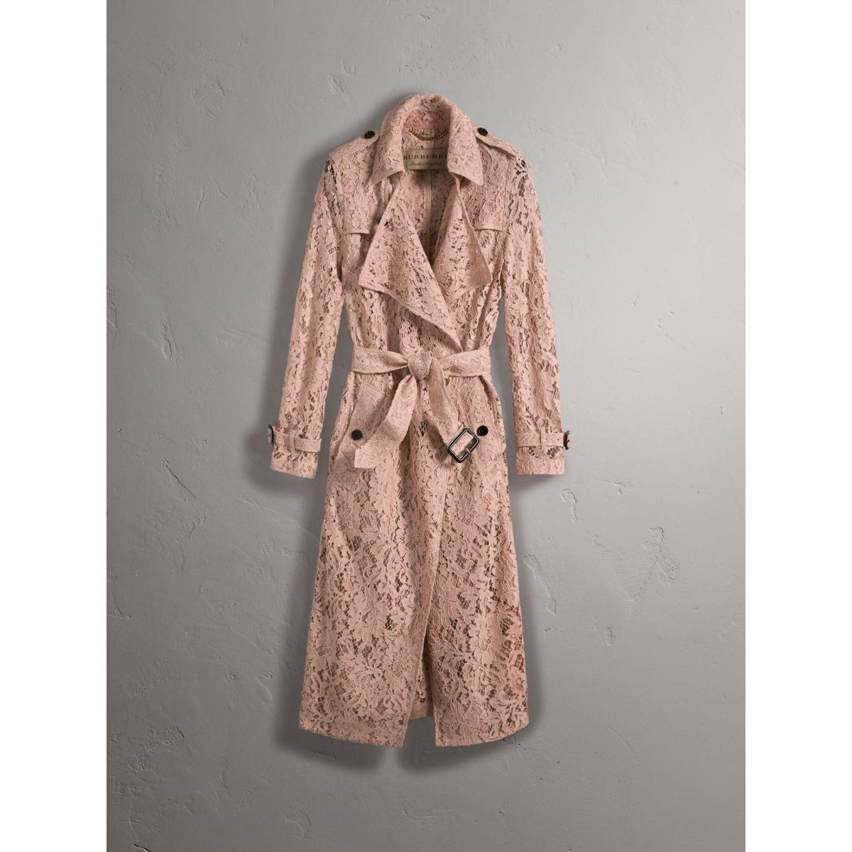 Macramé Lace Trench, $2,895, available at Burberry.