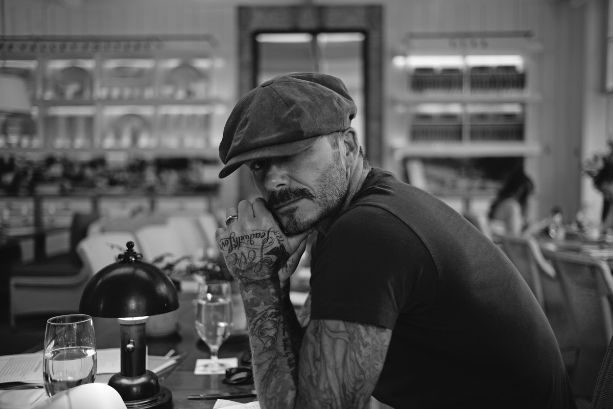 "David Beckham in ""What I See."" Photo: Rizzoli"