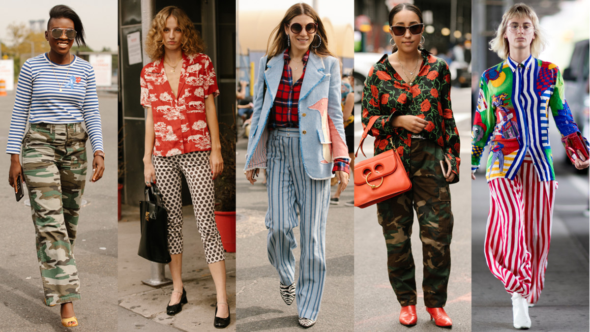Language In 45 And 47 Stella Street: Showgoers Experimented With Mismatched Prints On Day 6 Of