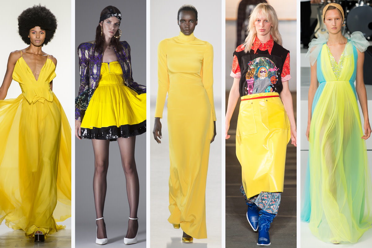 The ten color trends for Spring Summer 2018 48