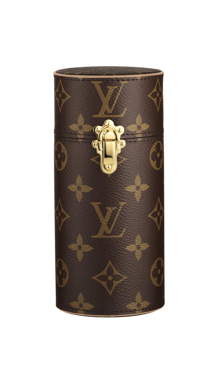 Les Parfums Louis Vuitton fragrance travel case. Photo: Louis Vuitton
