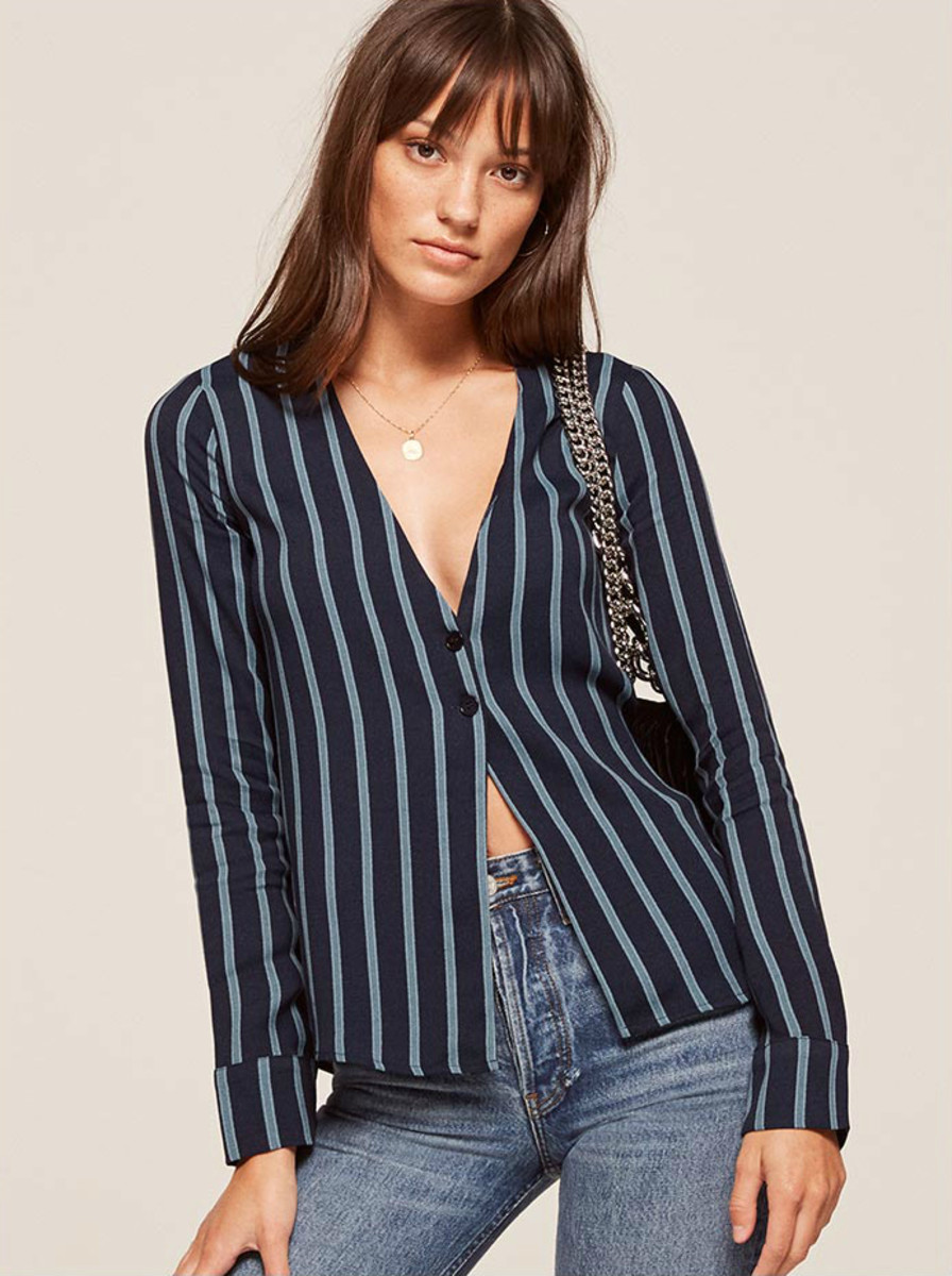 Reformation Risqué Top, $128, available at Reformation.